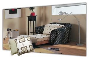 Кресла-кровати в интернет-магазине в СПб. У нас можно купить кресло кровать недорого. Кресло складное мягкое без подлокотников и с ними, раскладное - раскладушка или выкатное, каталог - цены, фото, прайс лист. Продажа и заказ в Санкт Петербурге. Мебельная Симфония.