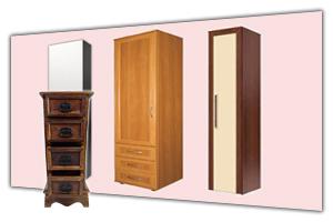 Шкафы 1 дверные - одностворчатые в интернет-магазине в СПб. У нас можно недорого купить однодверный шкаф пенал для дома. Каталог - цены, фото, прайс лист. Продажа и заказ в Санкт Петербурге. Стоимость доставки, сборка мебели. Мебельная Симфония.