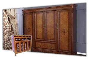 Шкафы 4-х дверные - большие четырехстворчатые шкафы в интернет-магазине в СПб. У нас можно купить четырехдверный шкаф. Каталог - цены, фото, прайс лист. Продажа и заказ в Санкт Петербурге. Стоимость доставки, сборка мебели. Мебельная Симфония.