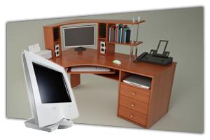 Компьютерные столы для дома и офиса в интернет-магазине в СПб. У нас можно недорого купить офисные компьютерные столы. Столы для компьютера или ноутбука, каталог - цены, фото. Продажа и заказ в Санкт Петербурге. Стоимость доставки, сборка мебели. Мебельная Симфония.