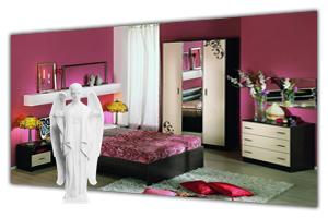 Спальные гарнитуры в интернет-магазине в СПб. У нас можно недорого купить набор мебели для спальни. Наборы спальной мебели, каталог - цены, фото, прайс лист. Продажа и заказ в Санкт Петербурге. Стоимость доставки, сборка. Мебельная Симфония.